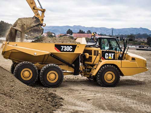 Cat articulated truck