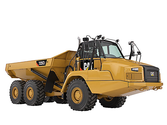 Cat articulated trucks