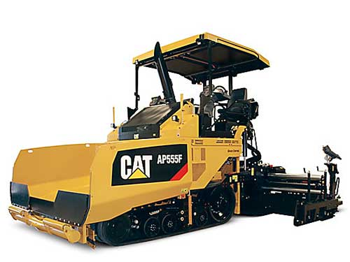 Cat asphalt paving equipment