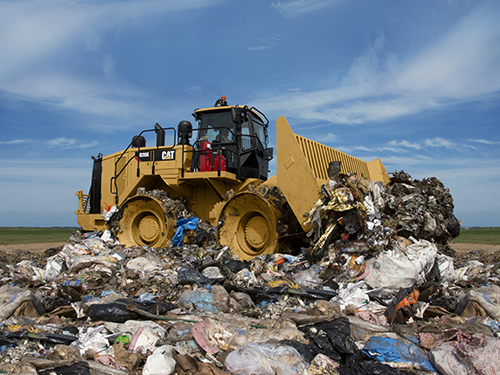 Cat Compact For Landfill Compactors