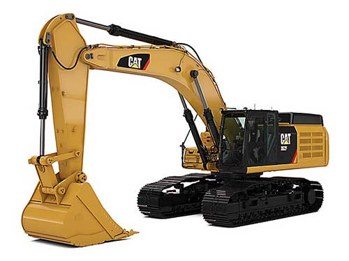large Cat excavators