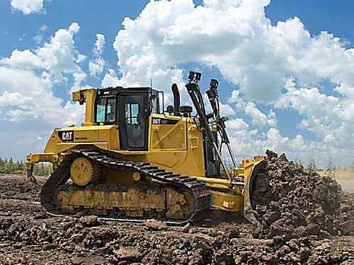 heavy equipment dozer