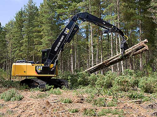 Cat undercarriages forestry