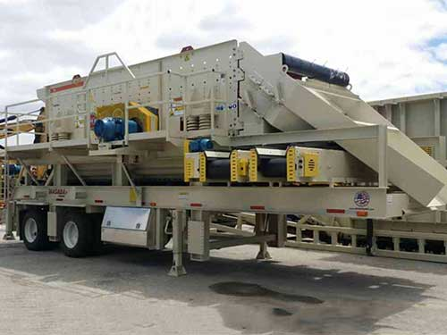 new crushing/screening equipment