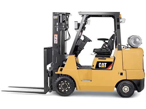 Cat new lift equipment
