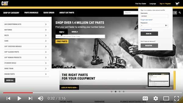 Cat Parts Store | Toromont Cat