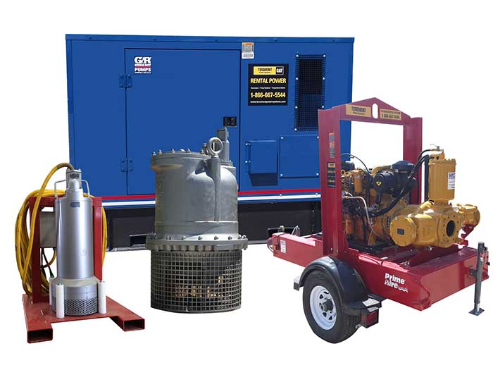 Pump Rental Fleet
