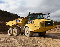 Rent articulated trucks that you can depend on to get the job done.