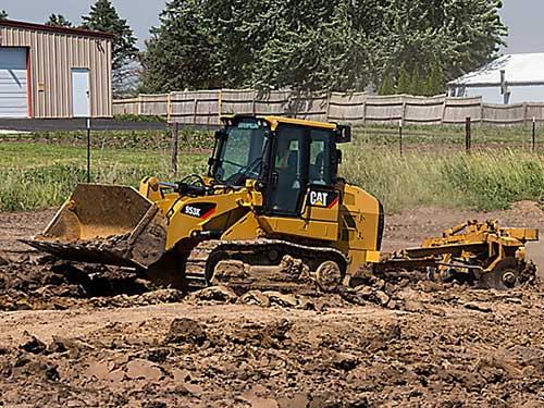 Cat track loader rental