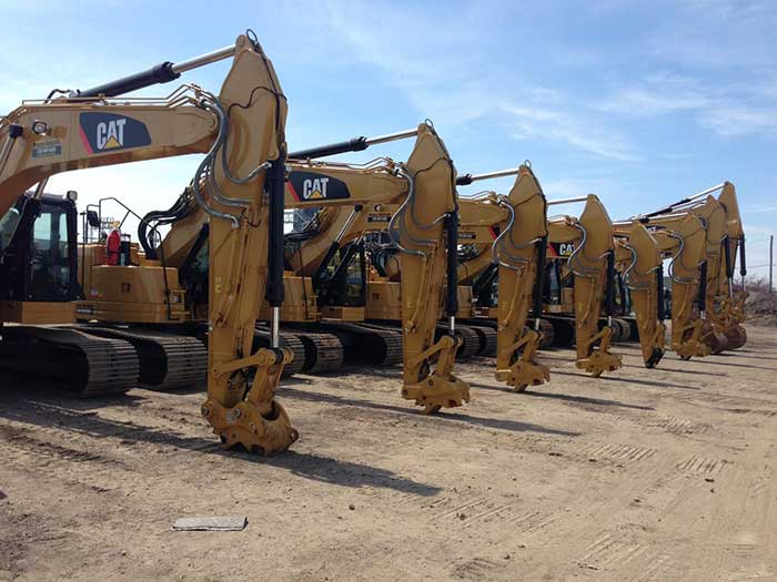 used Cat equipment