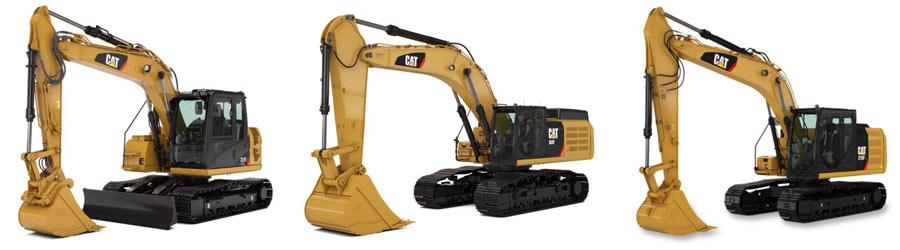 Buy New Cat Excavators from Toromont Cat