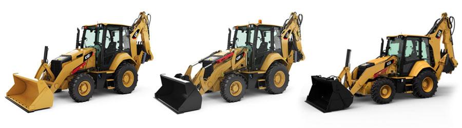 Acheter nouvelle Retrocaveuse CAT de Toromont Cat